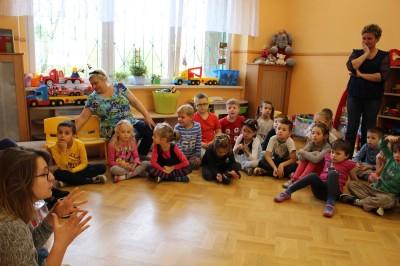 Prelekcja w przedszkolu