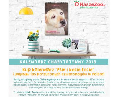 Kup kalendarz – wesprzyj naszą Fundację!