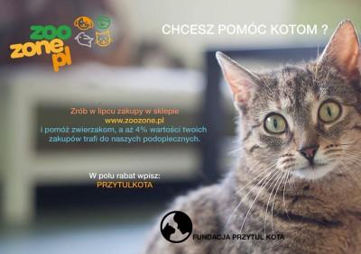 Ostatni tydzień by pomóc naszym podopiecznym w akcji ZooZone.pl