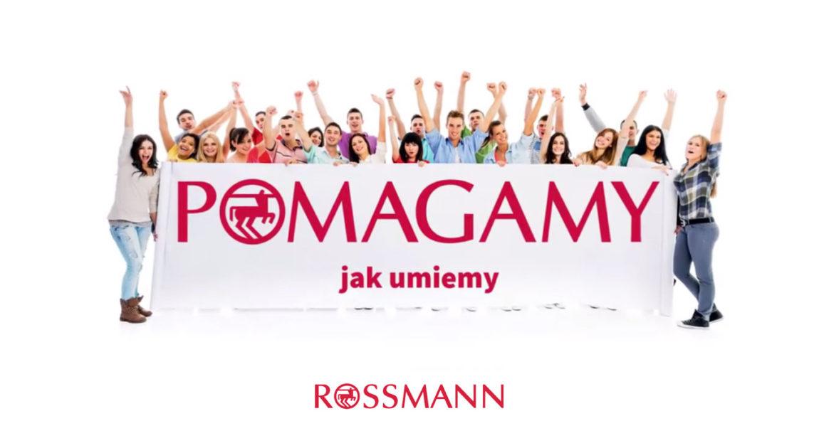 Robiąc zakupy w sieci Rossmann możesz wspierać naszą Fundację!