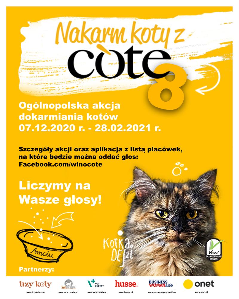 Nakarm Koty z Cote 8